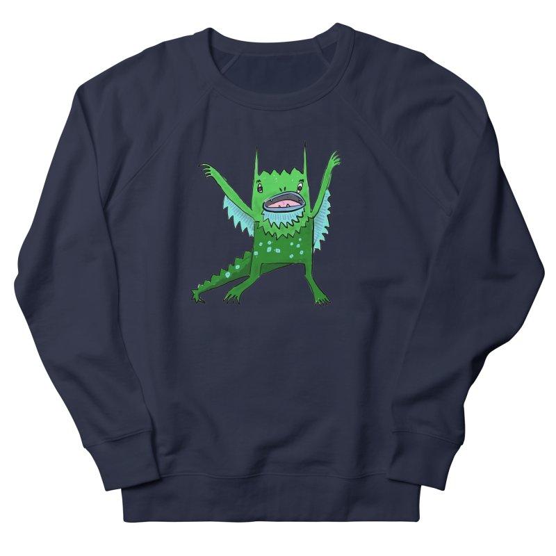 Little Monster Men's Sweatshirt by Renee Leigh Stephenson Artist Shop