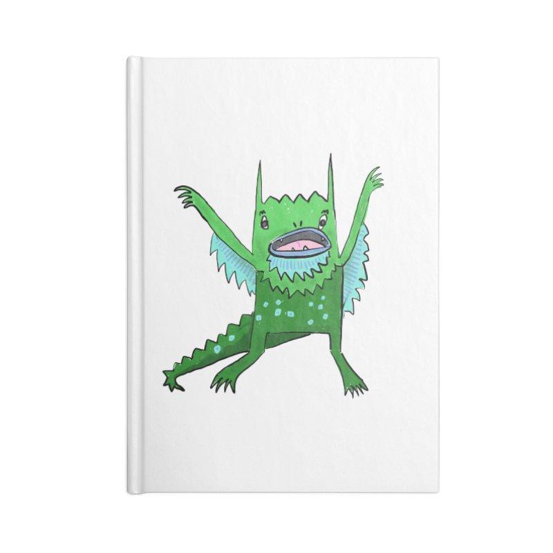 Little Monster Accessories Notebook by Renee Leigh Stephenson Artist Shop