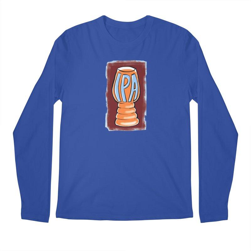 IPA Men's Longsleeve T-Shirt by Renee Leigh Stephenson Artist Shop