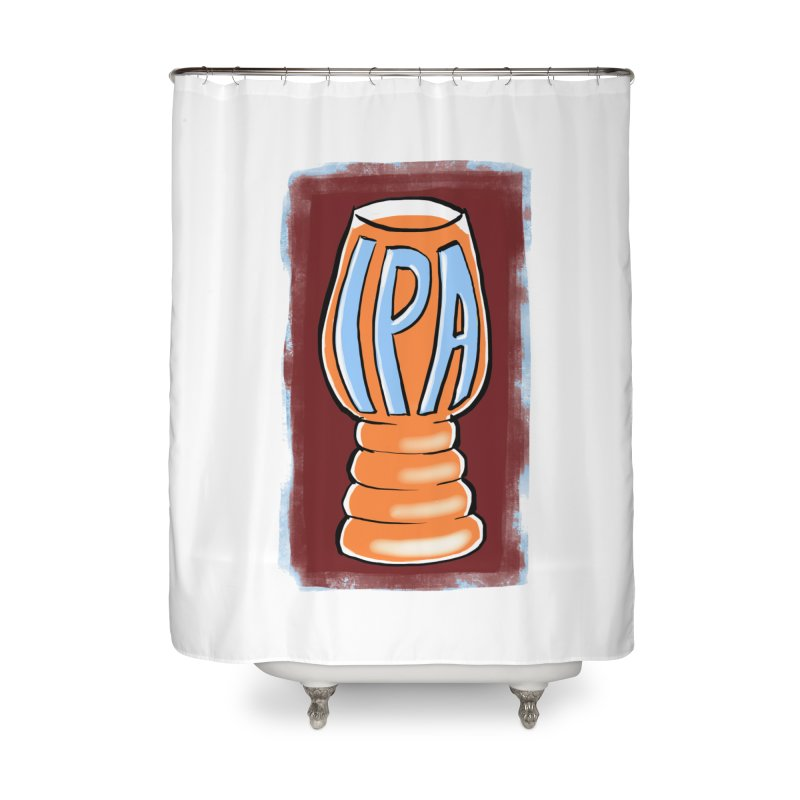 IPA Home Shower Curtain by Renee Leigh Stephenson Artist Shop