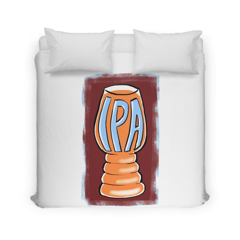 IPA Home Duvet by Renee Leigh Stephenson Artist Shop