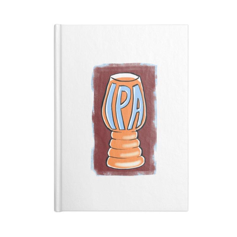 IPA Accessories Notebook by Renee Leigh Stephenson Artist Shop