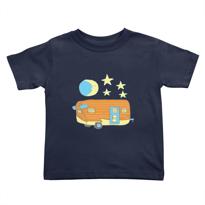 Camp Kids Toddler T-Shirt by Renee Leigh Stephenson Artist Shop