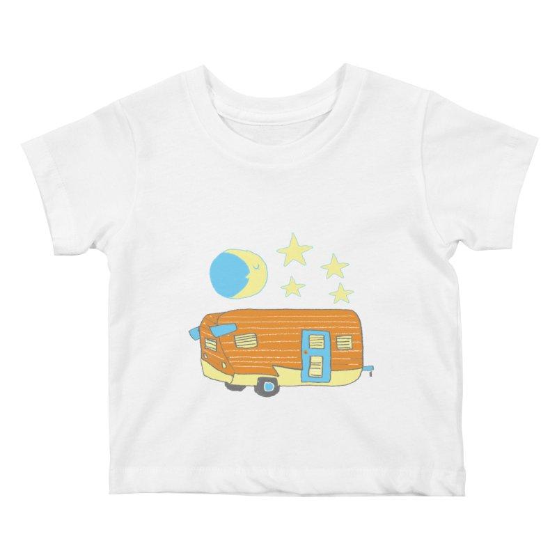 Camp Kids Baby T-Shirt by Renee Leigh Stephenson Artist Shop