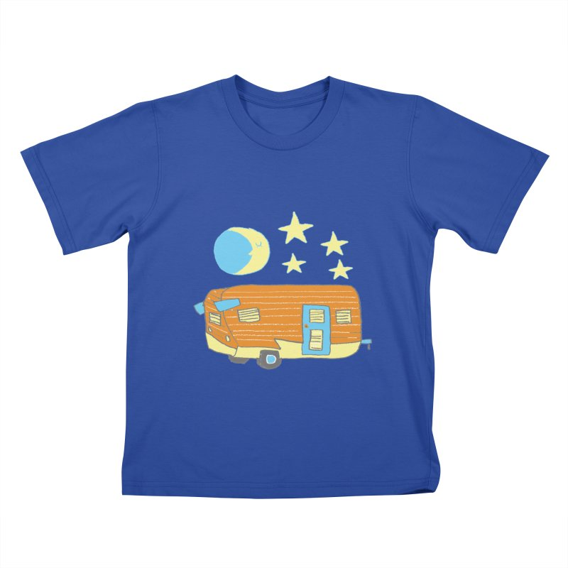 Camp Kids T-shirt by Renee Leigh Stephenson Artist Shop