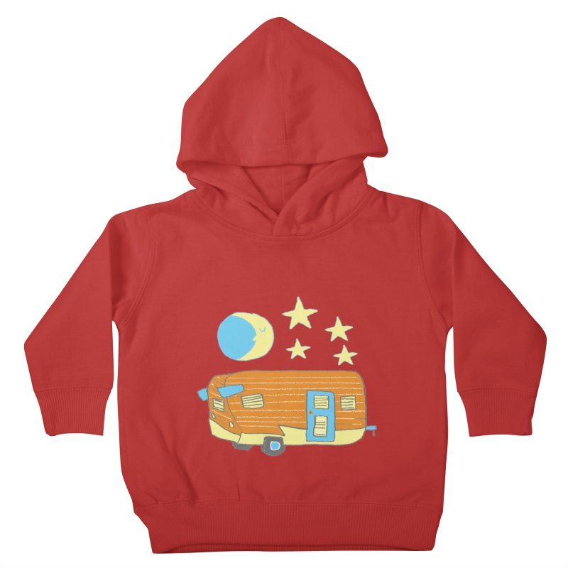 Camp Kids Toddler Pullover Hoody by Renee Leigh Stephenson Artist Shop