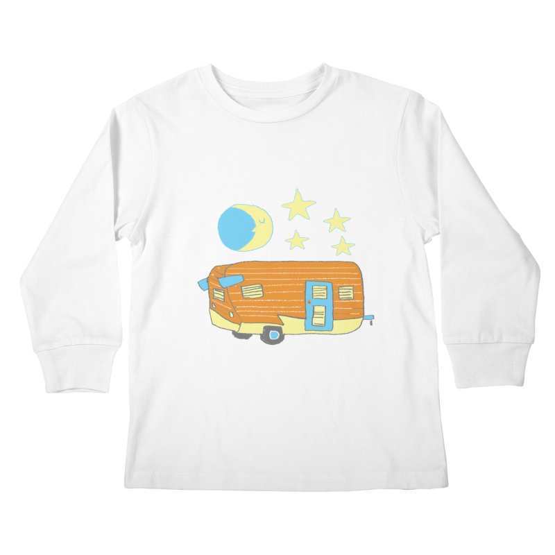 Camp Kids Longsleeve T-Shirt by Renee Leigh Stephenson Artist Shop