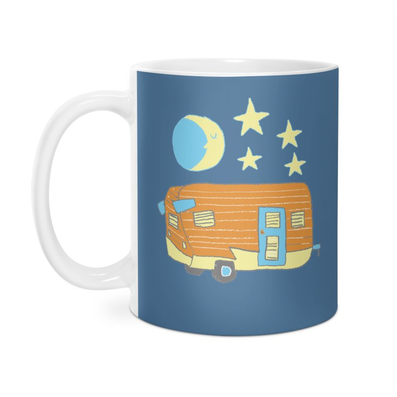 Camp in Standard Mug by Renee Leigh Stephenson Artist Shop