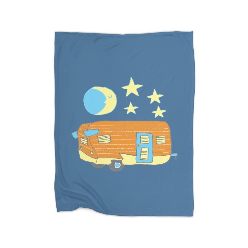 Camp Home Blanket by Renee Leigh Stephenson Artist Shop