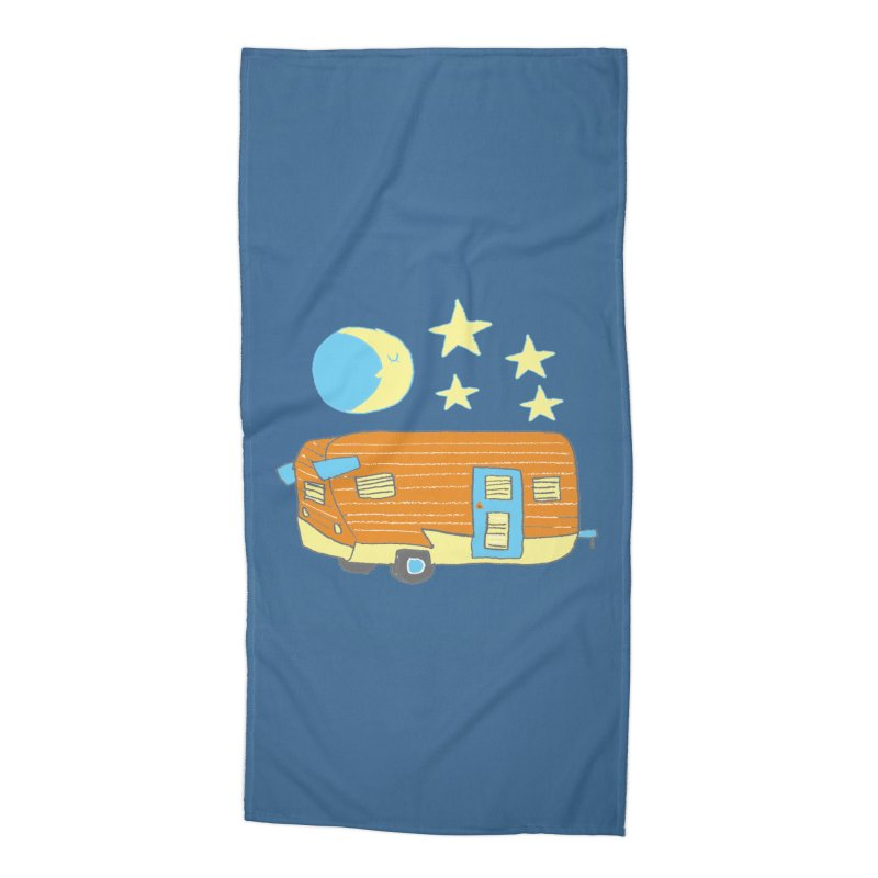 Camp Accessories Beach Towel by Renee Leigh Stephenson Artist Shop