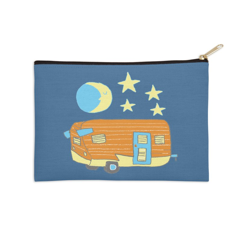 Camp Accessories Zip Pouch by Renee Leigh Stephenson Artist Shop