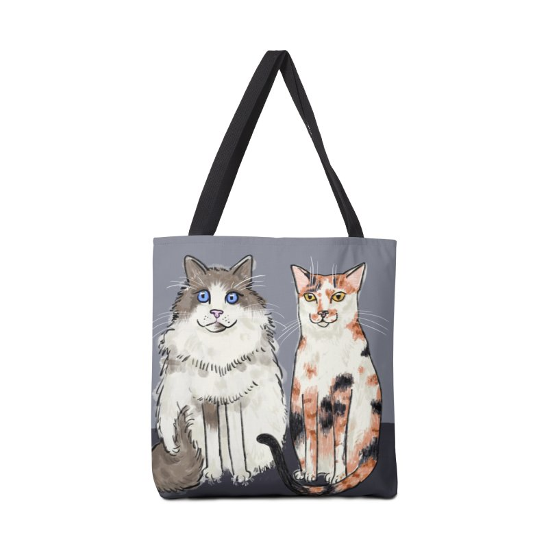 Gibbs and Callie Accessories Bag by Renee Leigh Stephenson Artist Shop