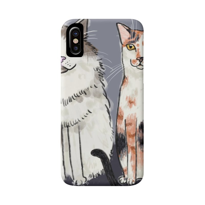 Gibbs and Callie Accessories Phone Case by Renee Leigh Stephenson Artist Shop
