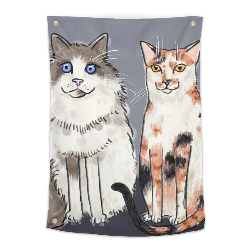 Gibbs and Callie Home Tapestry by Renee Leigh Stephenson Artist Shop