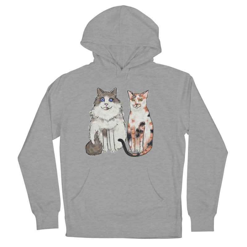 Gibbs and Callie Women's Pullover Hoody by Renee Leigh Stephenson Artist Shop