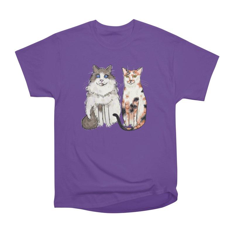 Gibbs and Callie Men's Classic T-Shirt by Renee Leigh Stephenson Artist Shop