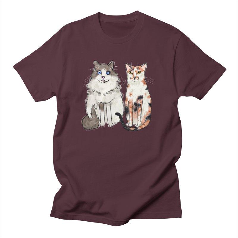 Gibbs and Callie Men's T-shirt by Renee Leigh Stephenson Artist Shop