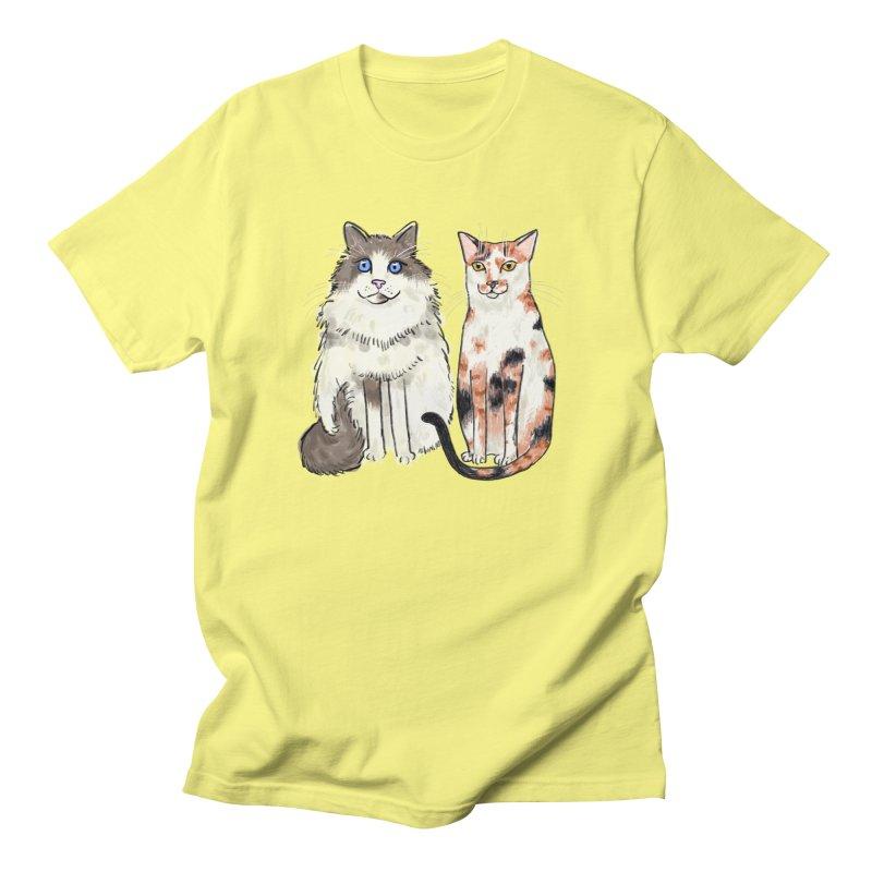 Gibbs and Callie Women's Unisex T-Shirt by Renee Leigh Stephenson Artist Shop