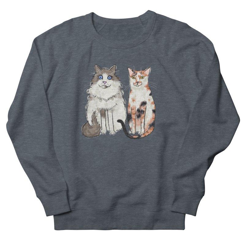 Gibbs and Callie Women's Sweatshirt by Renee Leigh Stephenson Artist Shop