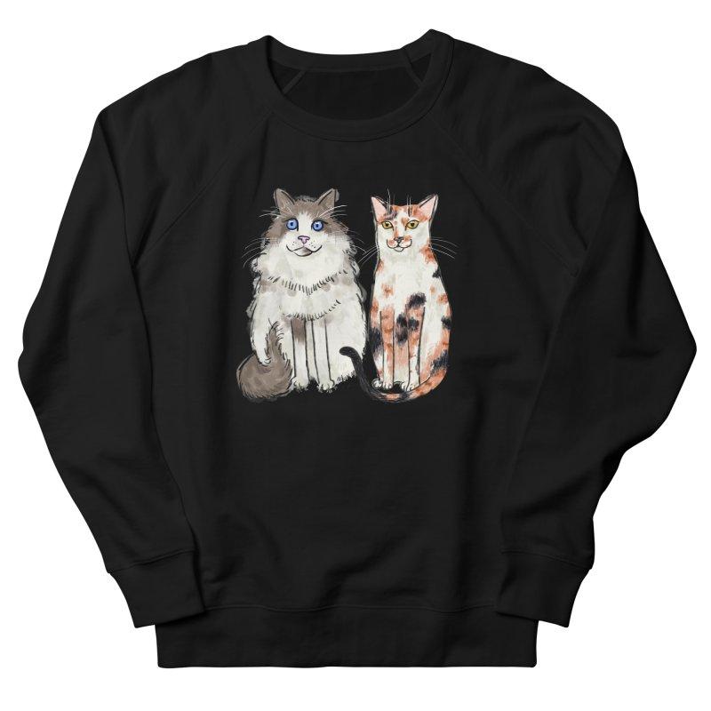 Gibbs and Callie Men's Sweatshirt by Renee Leigh Stephenson Artist Shop