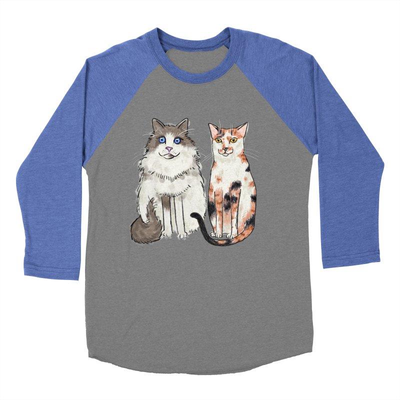 Gibbs and Callie Women's Baseball Triblend T-Shirt by Renee Leigh Stephenson Artist Shop