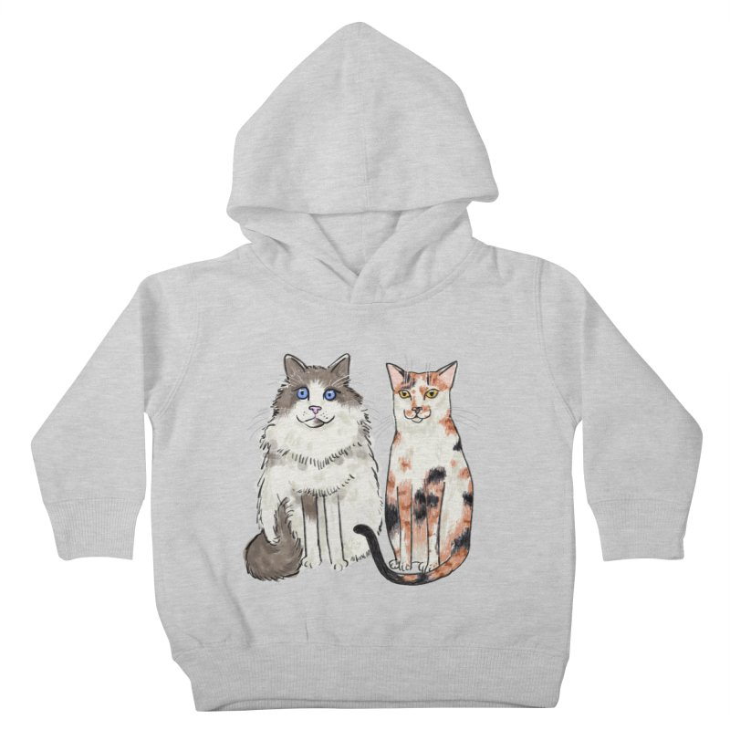 Gibbs and Callie Kids Toddler Pullover Hoody by Renee Leigh Stephenson Artist Shop