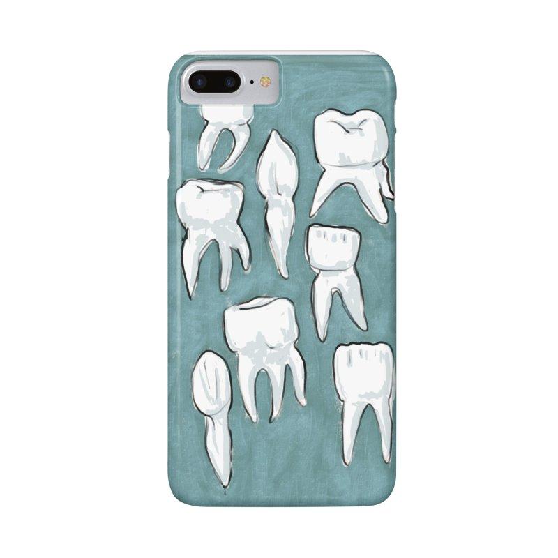 Human Teeth Accessories Phone Case by Renee Leigh Stephenson Artist Shop