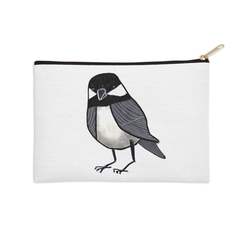 Backyard Buddy Accessories Zip Pouch by Renee Leigh Stephenson Artist Shop