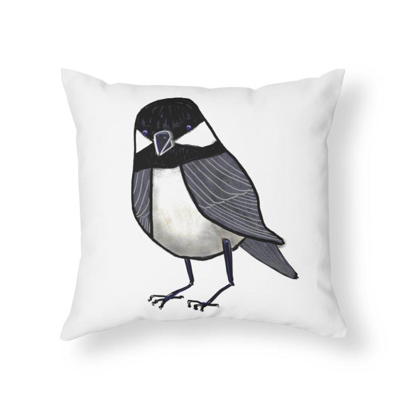 Backyard Buddy Home Throw Pillow by Renee Leigh Stephenson Artist Shop