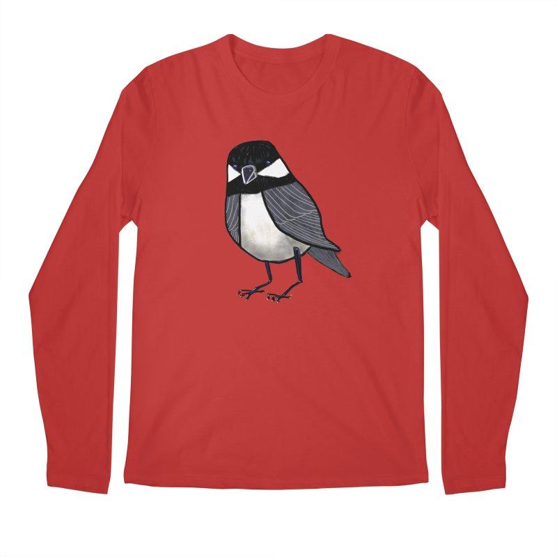 Backyard Buddy Men's Longsleeve T-Shirt by Renee Leigh Stephenson Artist Shop