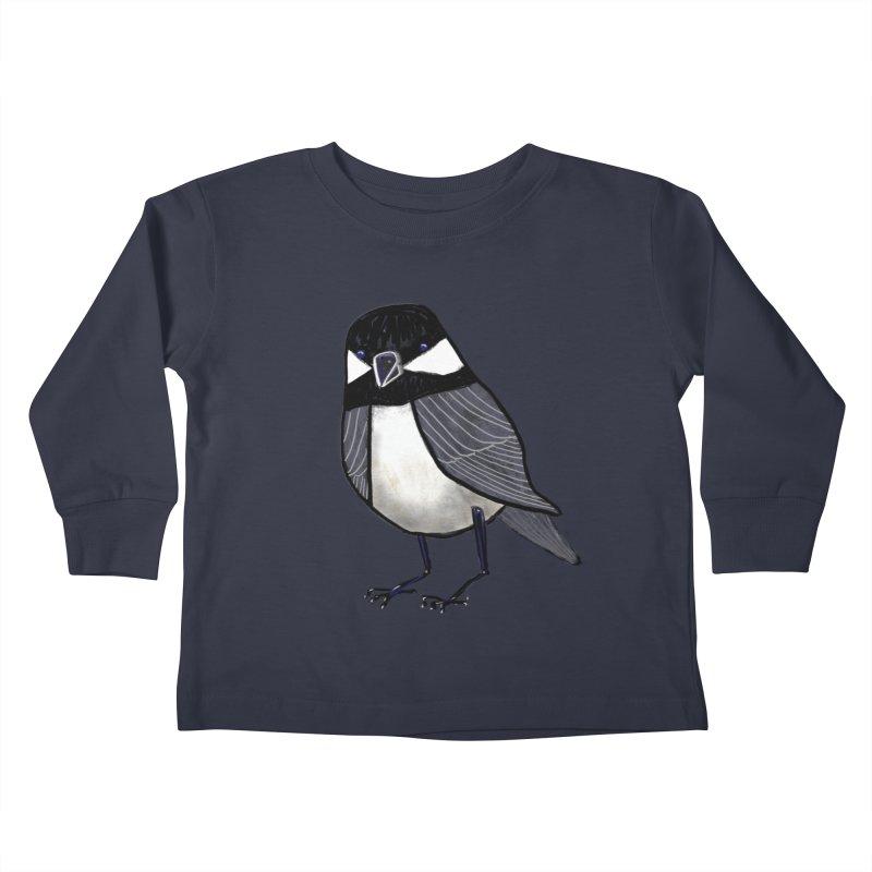 Backyard Buddy Kids Toddler Longsleeve T-Shirt by Renee Leigh Stephenson Artist Shop