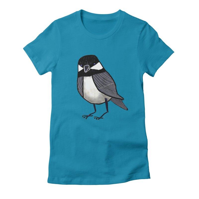 Backyard Buddy Women's Fitted T-Shirt by Renee Leigh Stephenson Artist Shop