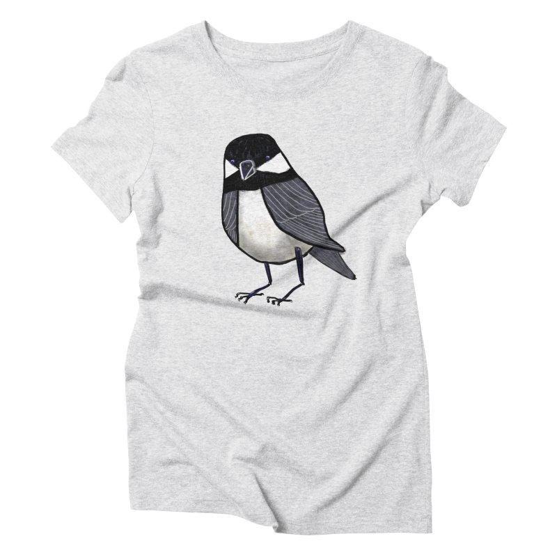 Backyard Buddy Women's Triblend T-shirt by Renee Leigh Stephenson Artist Shop