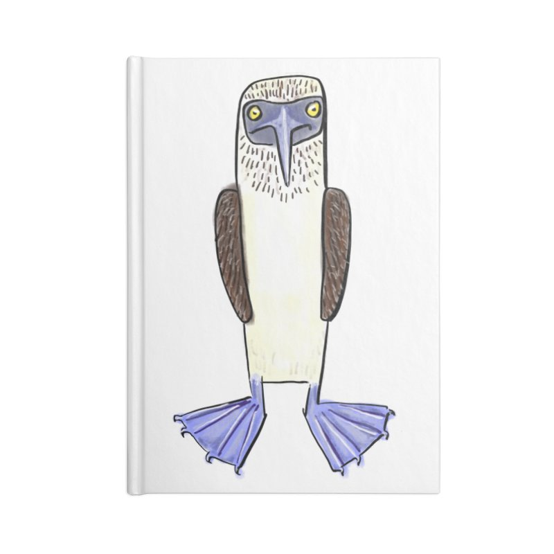Blue Footed Booby Accessories Notebook by Renee Leigh Stephenson Artist Shop
