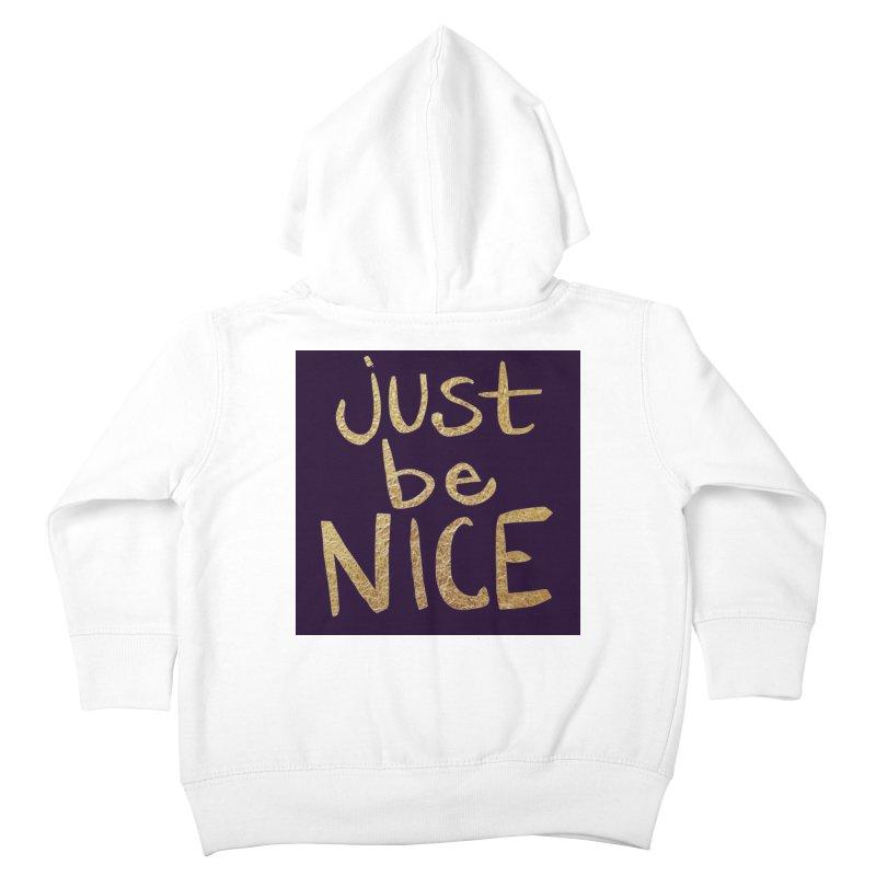 Just Be Nice Kids  by Renee Leigh Stephenson Artist Shop