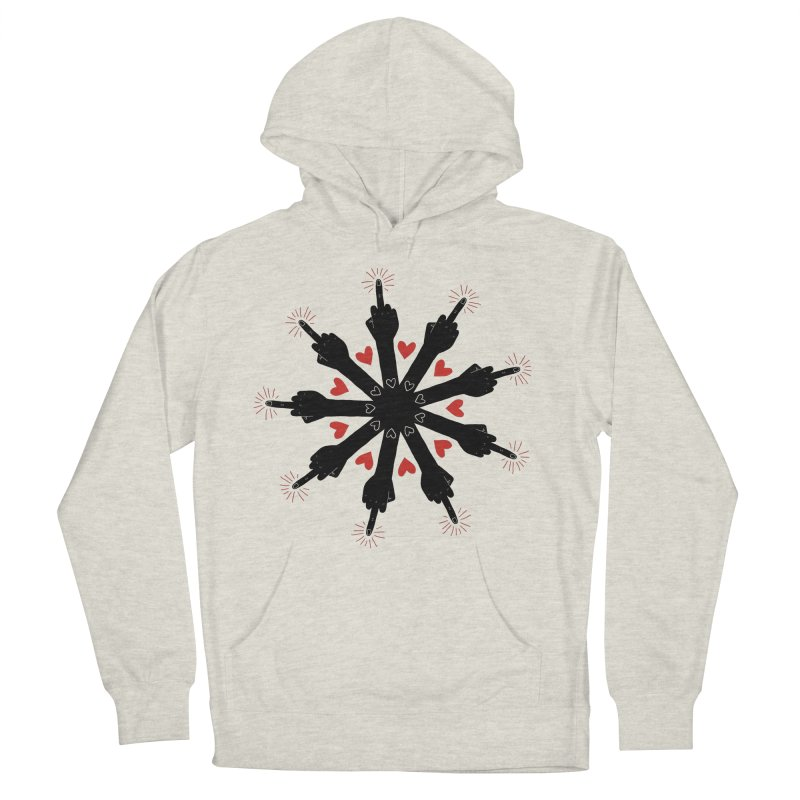 I Love You, But Go Away Women's Pullover Hoody by Renee Leigh Stephenson Artist Shop