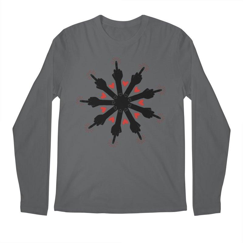I Love You, But Go Away Men's Longsleeve T-Shirt by Renee Leigh Stephenson Artist Shop