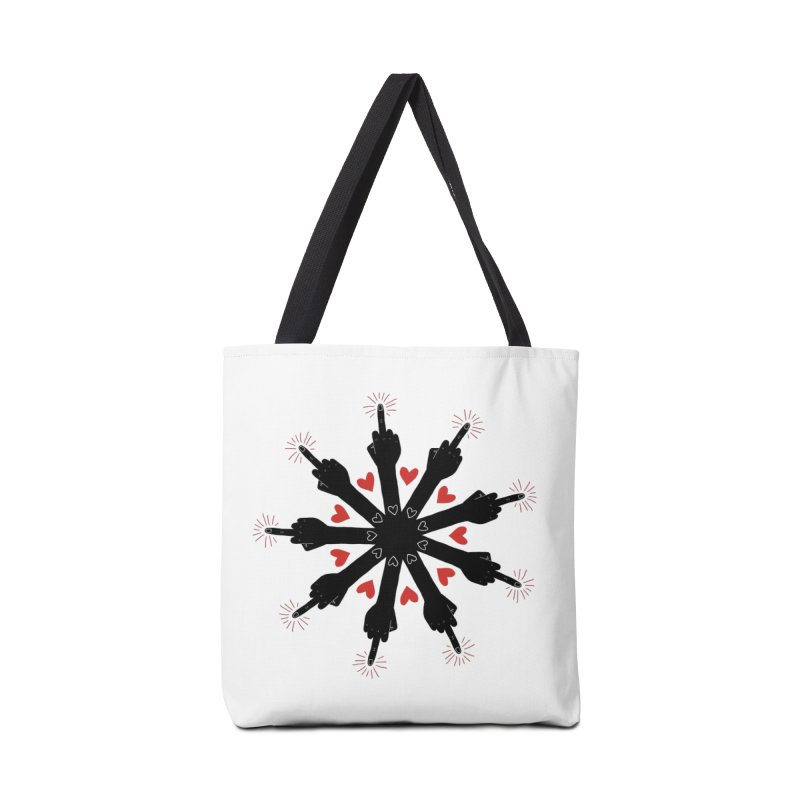I Love You, But Go Away Accessories Bag by Renee Leigh Stephenson Artist Shop