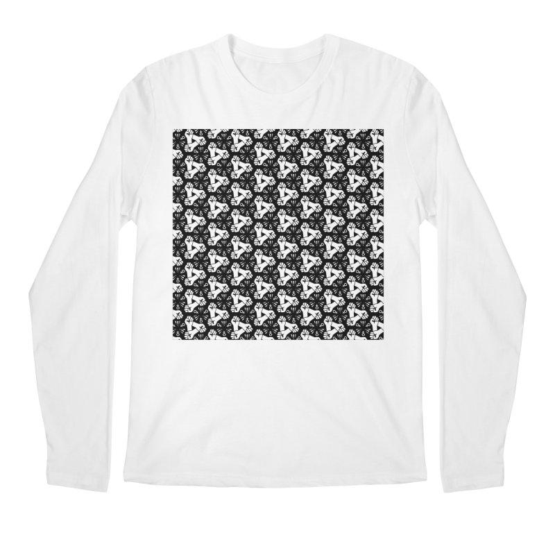 Feminist Resist Fist Men's Longsleeve T-Shirt by Renee Leigh Stephenson Artist Shop