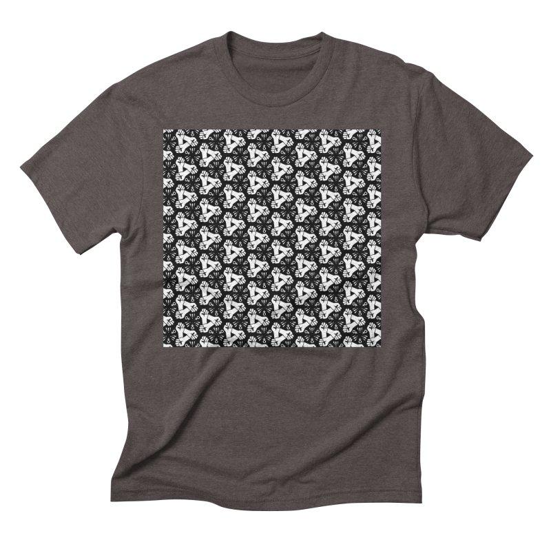 Feminist Resist Fist Men's Triblend T-Shirt by Renee Leigh Stephenson Artist Shop