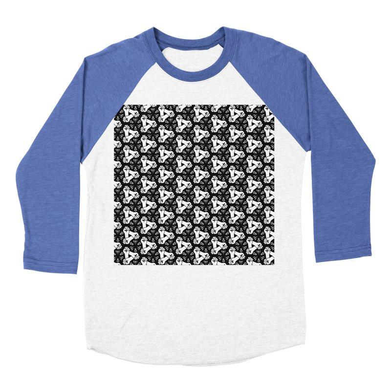 Feminist Resist Fist Women's Baseball Triblend T-Shirt by Renee Leigh Stephenson Artist Shop