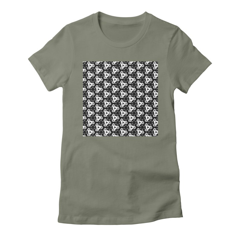 Feminist Resist Fist Women's Fitted T-Shirt by Renee Leigh Stephenson Artist Shop