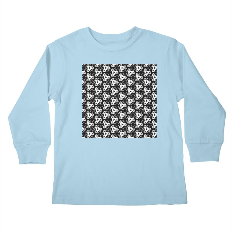 Feminist Resist Fist Kids Longsleeve T-Shirt by Renee Leigh Stephenson Artist Shop