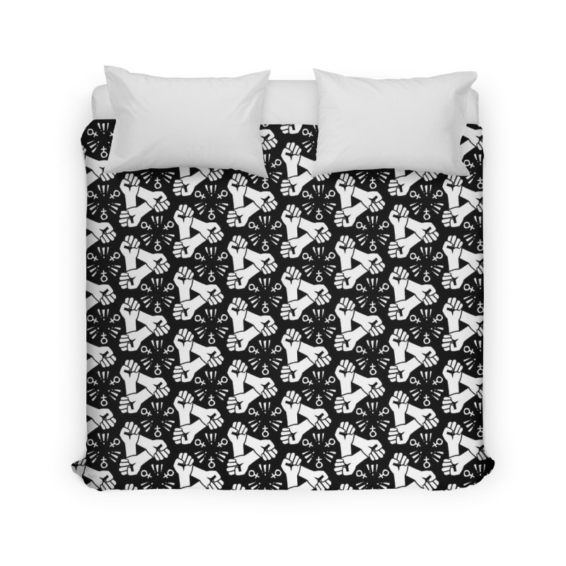 Feminist Resist Fist Home Duvet by Renee Leigh Stephenson Artist Shop