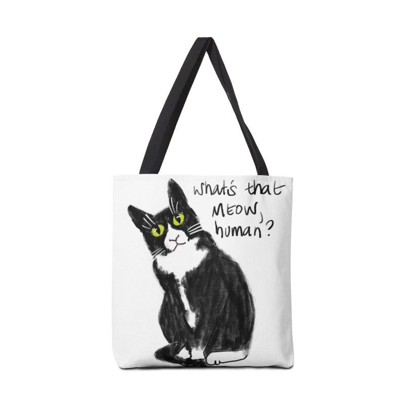 Say That Again? Accessories Bag by Renee Leigh Stephenson Artist Shop