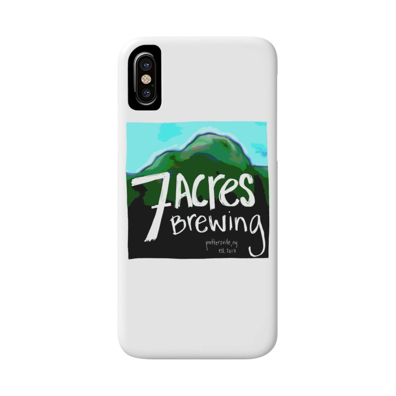 7 Acres Brewing Accessories Phone Case by Renee Leigh Stephenson Artist Shop