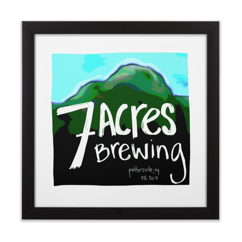 7 Acres Brewing Home Framed Fine Art Print by Renee Leigh Stephenson Artist Shop