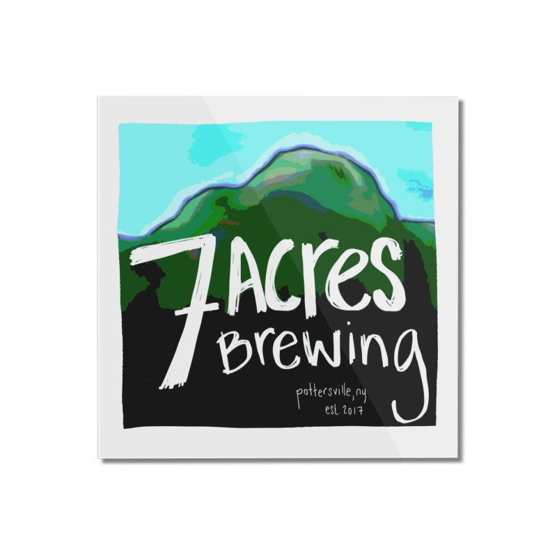 7 Acres Brewing Home Mounted Acrylic Print by Renee Leigh Stephenson Artist Shop