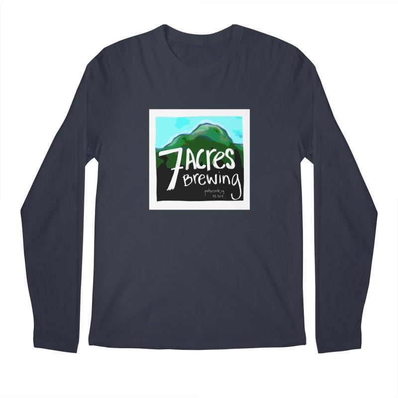 7 Acres Brewing Men's Longsleeve T-Shirt by Renee Leigh Stephenson Artist Shop