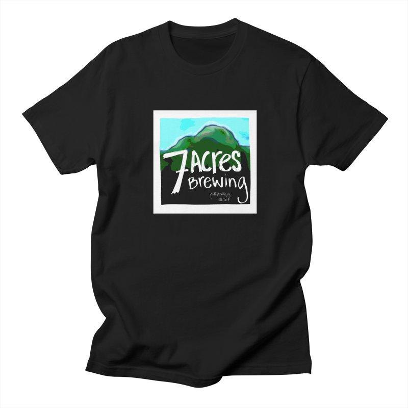 7 Acres Brewing Men's T-Shirt by Renee Leigh Stephenson Artist Shop